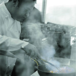 Fabio Baldassarre cooking class